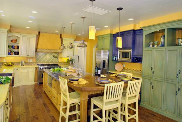 Colors For A French Country Kitchen