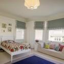 modern window treatment ideas for children bedroom decor