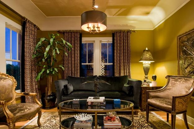 Modern Interior Decorating With Classy Meander Decorative