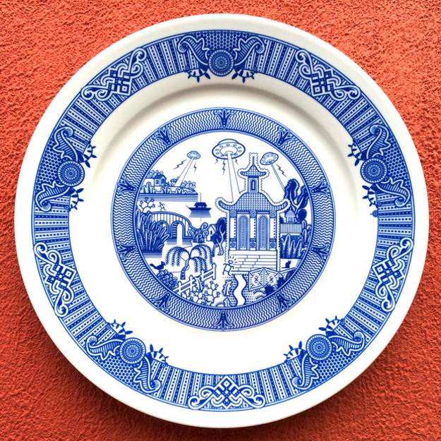 Hand painted decorative plates  sc 1 st  Decor4all & Fabulous Painting Ideas Creating Decorative Plates in Vintage Style