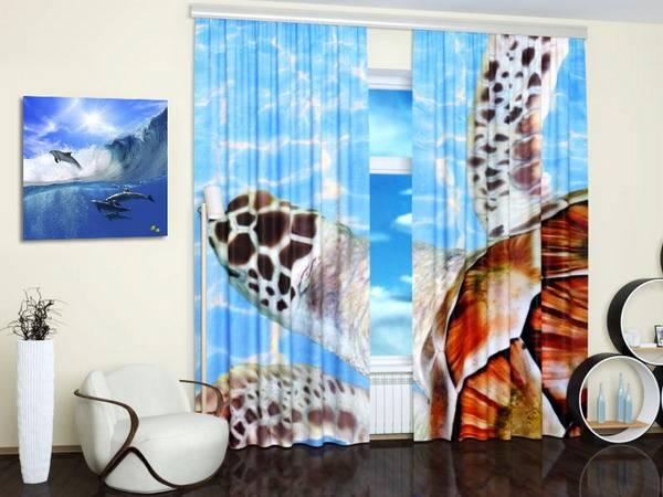 Custom Photo Curtains Adding Digital Prints to Kids Room ...