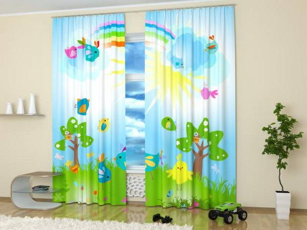 childrens bedroom curtains custom photo curtains adding digital prints to room 11095
