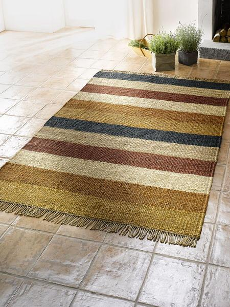 Floor Rugs and Carpets with Wide Stripes 25 Interior Decorating Ideas – Bedroom Floor Rugs