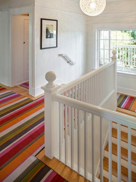 Modern Ideas For Interior Decorating With Colorful Striped