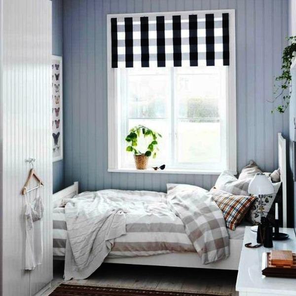 Modern Room Decor With Vertical Stripes, 20 Room