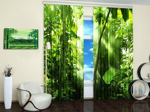 15 Window Curtains with Colorful Art Prints of Beautiful ...