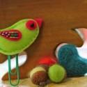 handmade decorations and felt crafts