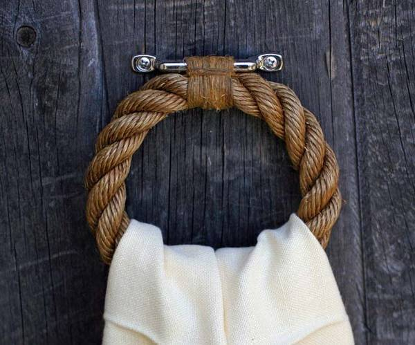 modern home decor items made with rope