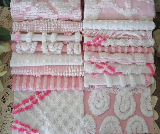Beautiful Chenille Fabrics And Modern Decor Accessories In Vintage Style