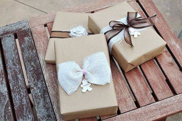 paper craft and handmade decorations for gifts