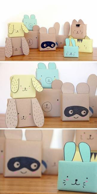 paper crafts and handmade decorations for gifts
