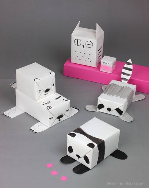 25 creative decorating ideas for wrapping unique gifts funny gift boxes creative paper crafts and decorating ideas negle Gallery