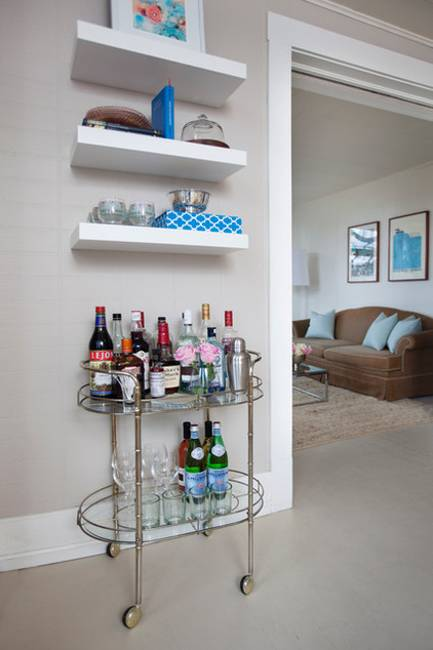 2014 Home Decor Trends Open Shelving: Creative And Modern Interior Decorating With Open Wall Shelves