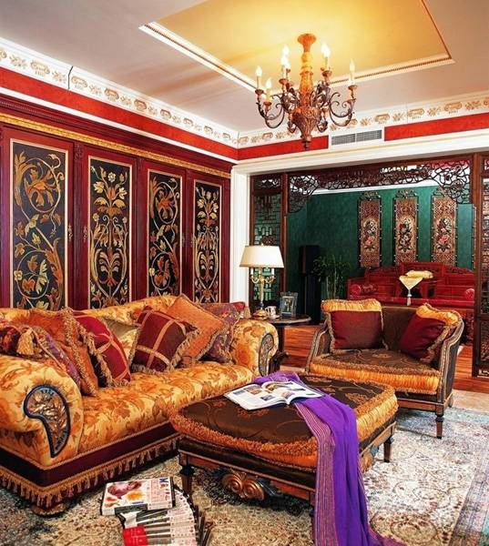 modern interiors in asian styles