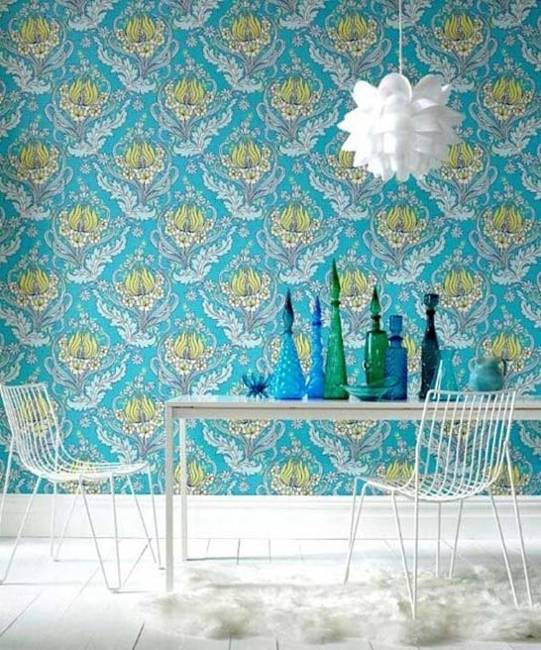 Retro Wallpaper Patterns Creating Magic Effects And Enhancing Modern
