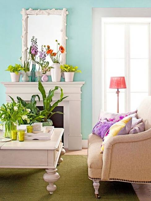 Summer Decorating With Flowers And Plants 25 Beautiful
