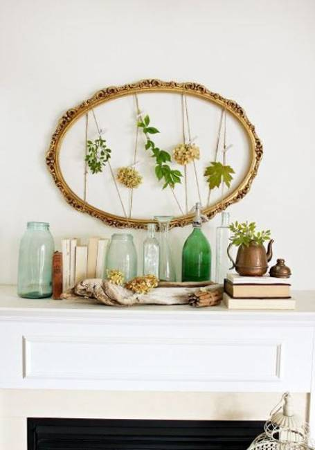 Summer Decorating With Flowers And Plants 25 Beautiful Fireplace Mantels