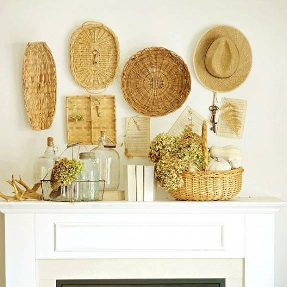 Summer Decorating with Flowers and Plants, 25 Beautiful Fireplace ...