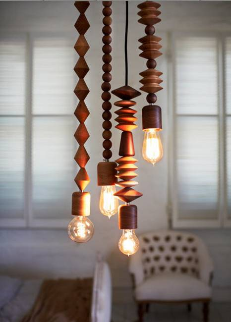 35 Ideas For Interior Decorating With Wooden Beads And