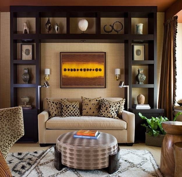 21 african decorating ideas for modern homes for Modern apartment decorating ideas photos