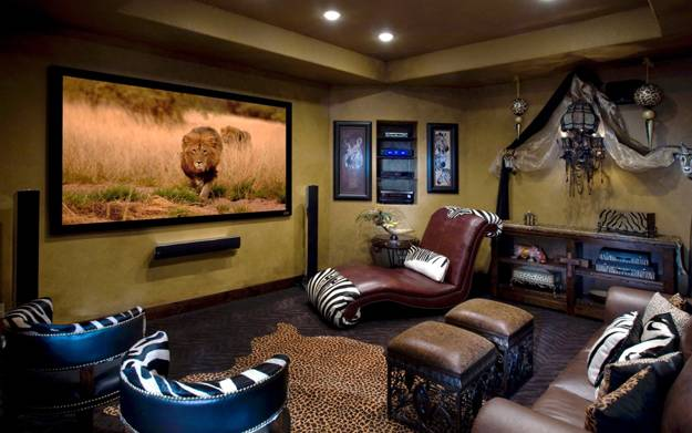 Modern Living Room, African Decoration Ideas Part 74
