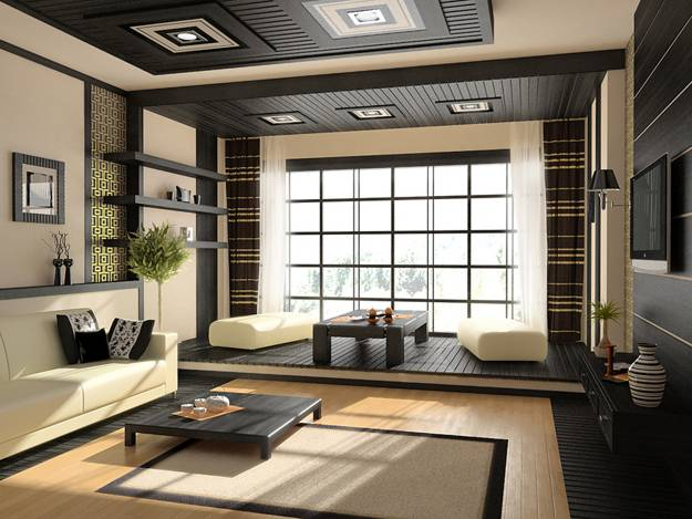 22 asian interior decorating ideas bringing japanese for Japanese home decorations