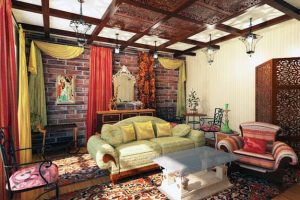 moroccan interior decor and room colors