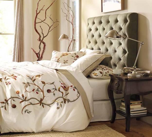 25 upholstered headboards revitalization modern day for Bedroom ideas with upholstered headboards