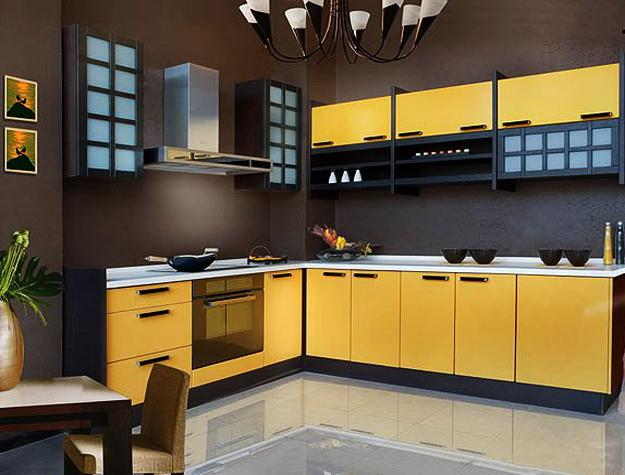 modern-kitchen-decor-yellow-color-8 Contempary Wall Decorating Ideas Yellow Kitchen on yellow kitchen wall colors, yellow kitchen design ideas, yellow kitchen decor,