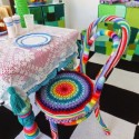 colorful crochet designs for home decorating
