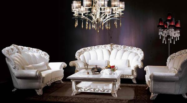 Modern Classic Living Room Furniture In Italian Style