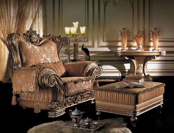 Modern classic living room furniture in italian style for Classic contemporary furniture