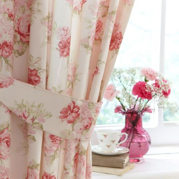 Home Design Ideas Curtains: 25 Modern Decor Ideas With Floral Fabric Prints And Textiles