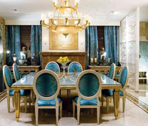 25 Blue Dining Room Designs Decorating Ideas: 25 Ideas For Classic Dining Room Decorating With Vintage