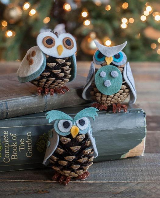 Handmade Ceramic Christmas Ornaments