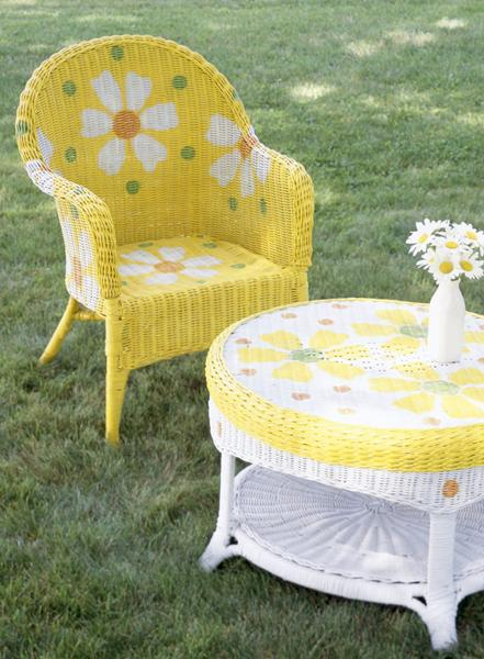 painting suggestions for outdoor furniture and interior