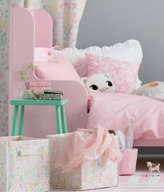 Soft Pink Room Colors For Girls Bedroom Decorating