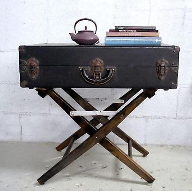15 Creative Reuse And Recycle Ideas For Interior Decorating: 3 Ways Old Suitcases Make Interior Decorating Beautiful