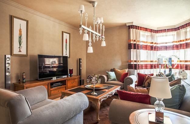 modern interior design in english classic style