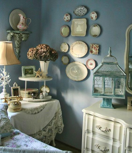 Bedroom Design Shabby Chic Small Bedroom Accent Wall Purple And Black Bedroom Decorating Ideas Japanese Room Design Bedroom: 21 Modern Wall Decor Ideas Using Decorative Plates