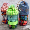 diy small storage containers recycling plastic bottles