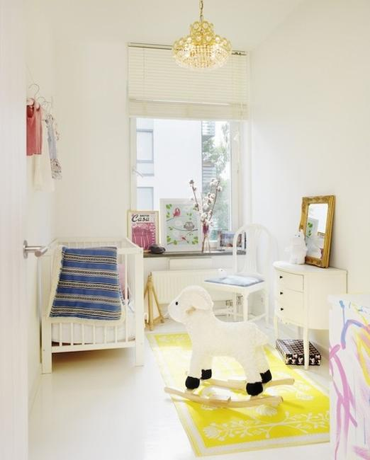 Bright Kids Room: 22 White Decorating Ideas For Bright Kids Rooms