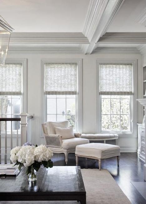 25 Modern Roman Shades For Beautiful Room Decorating