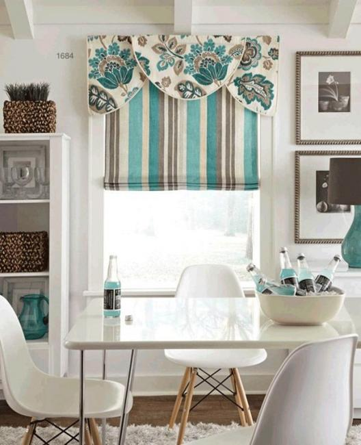 Home Design Ideas Curtains: 25 Modern Roman Shades For Beautiful Room Decorating