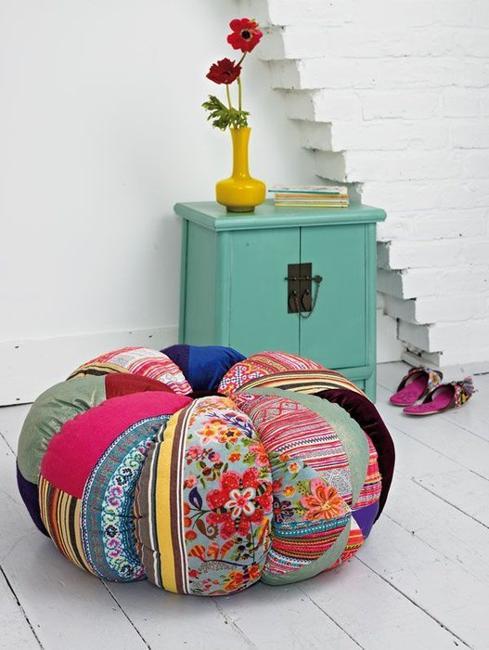 Fabric Home Decor Ideas Part - 25: Patchwork Fabrics And Modern Home Decor Ideas