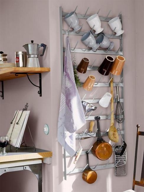 Organizers And Open Shelves Modern Kitchen Decor In Provencal Style