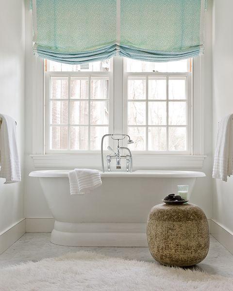 Beautiful Window Treatment Ideas For Kitchen And Bathroom Decorating Roman Shades