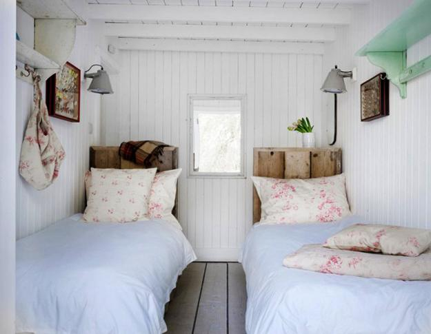 Pastel colors and creativity turning rooms into modern for Shabby chic bedroom colors