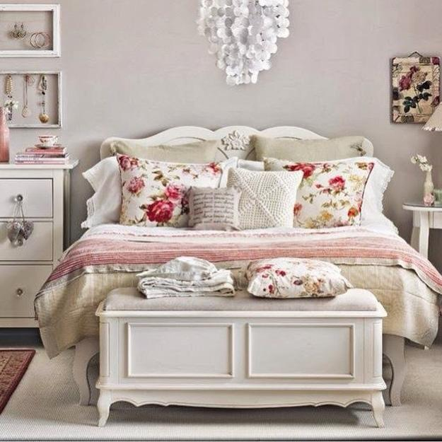White Shabby Chic Bedroom Ideas: Pastel Colors And Creativity Turning Rooms Into Modern