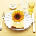 sunflower floral arrangements and table decorations